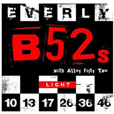 New Everly B-52 Rockers Alloy 9210 Light Electric Guitar Strings (10-46) for sale