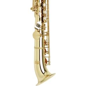 Allora TKS-344LE2/HBK Vienna Series Intermediate Semi-Curved Soprano Saxophone