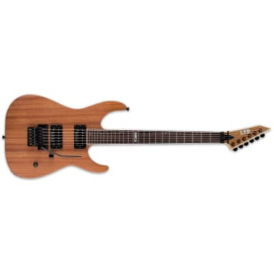 ESP LTD M-400M Natural Satin NS Mahogany NEW Electric Guitar + Free Gig Bag FR for sale