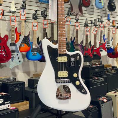 Fender Player Series Jazzmaster Polar White Pau Ferro w/ Free Shipping, Auth Dealer