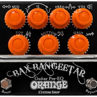 Orange Bax Bangeetar Guitar Pre-EQ Pedal