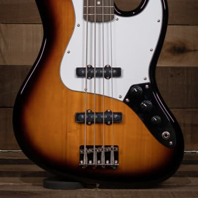 Squier Affinity Series™ Jazz Bass®, Laurel Fingerboard, Brown Sunburst