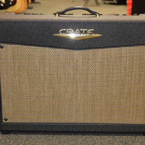 """Crate VTX200S Stereo 3-Channel 2x100-Watt 2x12"""" Guitar Combo with DSP Effects"""