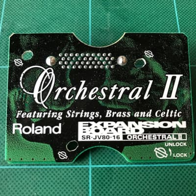 Roland SR-JV80-16 : Orchestral II Exp. Board Free shipping!!