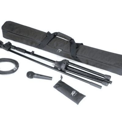 Peavey PV-MSP2 XLR Microphone Stand Package Black