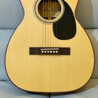 Leho LHG 0014R (Designed by Larrivee) Full Solid Indian Rosewood 38' Parlor Guitar with hardcase