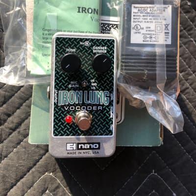 Electro-Harmonix Iron Lung Vocoder W/Box, AC Adapter