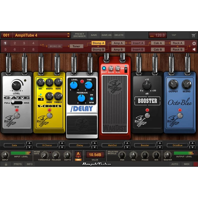 ik multimedia amplitube 4 slash duo bundle guildwater gear reverb. Black Bedroom Furniture Sets. Home Design Ideas