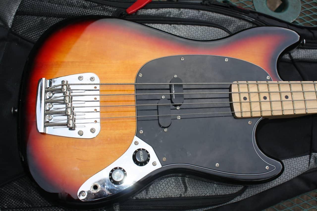 fender squier vintage modified mustang bass guitar reverb. Black Bedroom Furniture Sets. Home Design Ideas