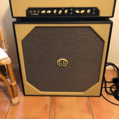 65 Amps Marquee Head & Cabinet Previously Owned by Drew Shirley Of Switchfoot