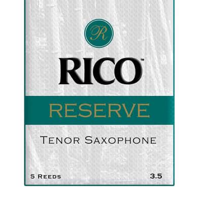 D'Addario Reserve Tenor Saxophone Reeds, Box of 5 3