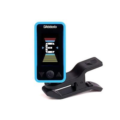 DAddario Eclipse Headstock Tuner in Blue