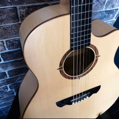 VGS Polaris Acoustic Guitar / Westerngitarre 2016 Natural Satin for sale