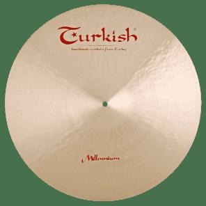 """Turkish Cymbals 21"""" Jazz Series Millennium Ride MLN-R21"""