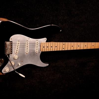 RebelRelic 56 S-series black Stratocaster type for sale