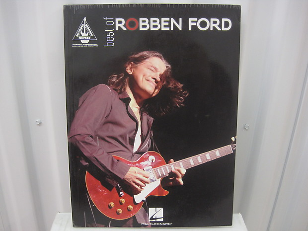 BEST OF ROBBEN FORD GUITAR TAB SHEET MUSIC SONG BOOK