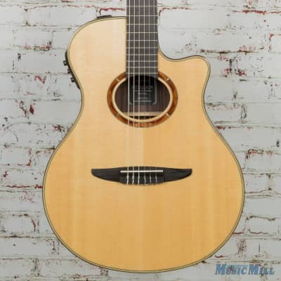 Yamaha NTX1200R Classical Cutaway Acoustic Electric Guitar Natural