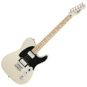 Squier Contemporary Telecaster HH with Maple Fretboard Pearl White