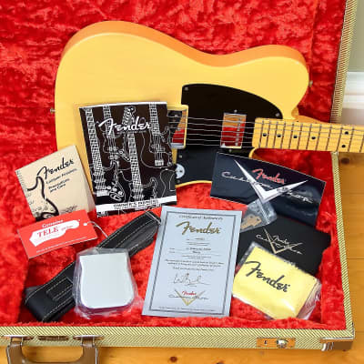 Fender Fender Custom Shop 52 Telecaster Hot Rod  2012    Blonde for sale