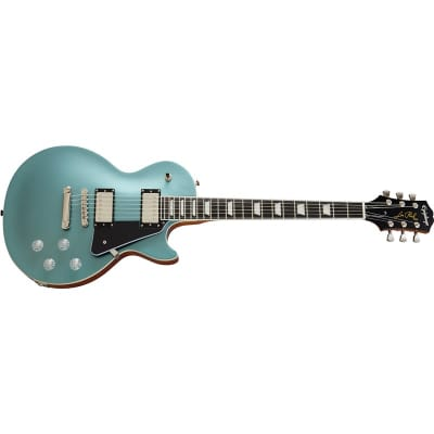 Epiphone Les Paul Modern, Faded Pelham Blue for sale