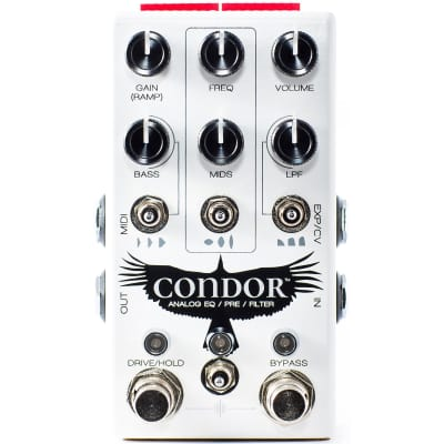 Chase Bliss Audio Condor Analog Pre / EQ / Filter Pedal