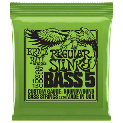Ernie Ball 2836 Nickel RoundWound Regular Slinky 5-String Bass