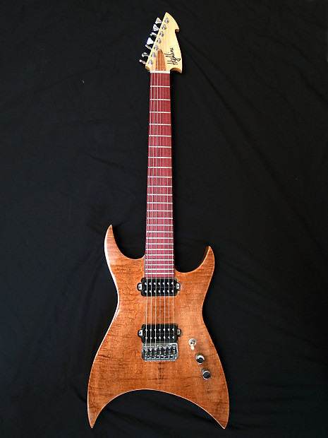 brand new usa handmade highline guitars shuriken 7 string reverb. Black Bedroom Furniture Sets. Home Design Ideas