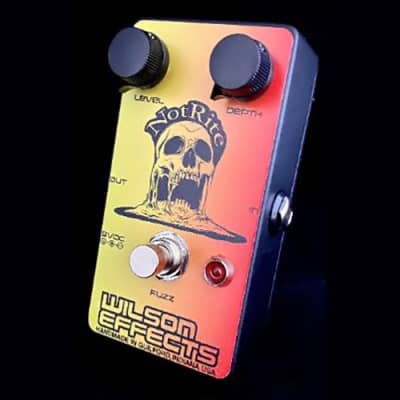 Wilson Effects NotRite Fuzz Guitar Effects Pedal