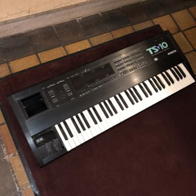 Ensoniq TS-10 with Poly AT, SCSI, Memory Expander, OS 3.10 // 61 Key Polyphonic Aftertouch TS10