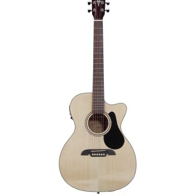 Alvarez  Regent Series RF26CE Acoustic Electric Folk/OM Guitar w/Deluxe Gig Bag for sale