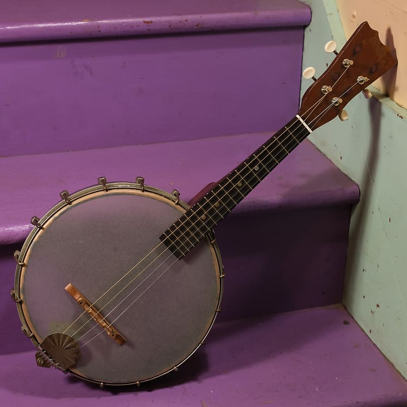 1920s Oscar Schmidt-made Stella 4-String Banjo-Mandolin | Reverb