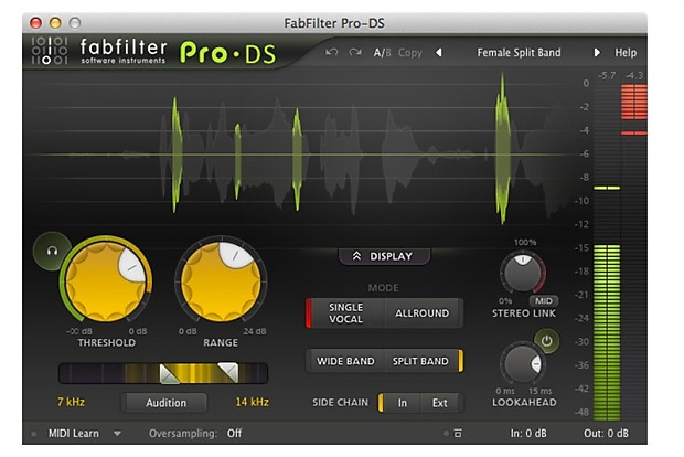 FabFilter Pro-DS | Recording Software Shop