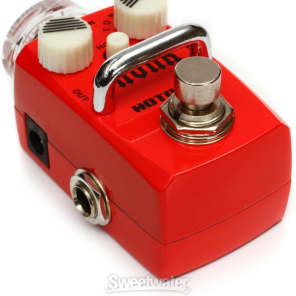 Hotone CHUNK Single Footswitch Analog Distortion Pedal SDS1 for sale