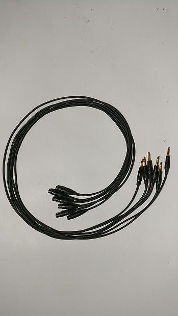 Mogami Gold TRS to XLR Cables, 6-Pack | Mountain Sound