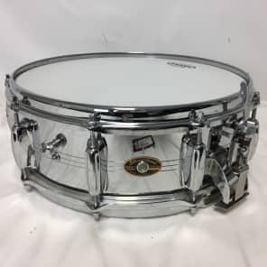 "Slingerland No. 141 Radio King 5x14"" 10-Lug Chrome Over Brass Snare Drum 1963 - 1967"