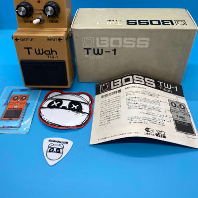 Boss TW-1 Touch Wah Pedal w/Original Box & Manual | Rare (Made in Japan) | Fast Shipping!