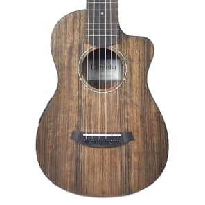 Cordoba Mini O-CE Ovangkol Nylon Travel Guitar w/ Electronics Natural