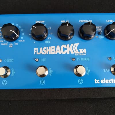 TC Electronic Flashback 2 X4 Delay and Looper Pedal (MASH)