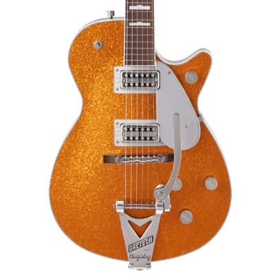 Gretsch G6129T-89 Vintage Select '89 Sparkle Jet with Bigsby - Gold Sparkle