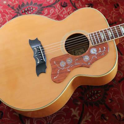 ∞ Superior Vintage Japan Made J200 Style Guitar, JAPAN! + Top Notch ∞ for sale