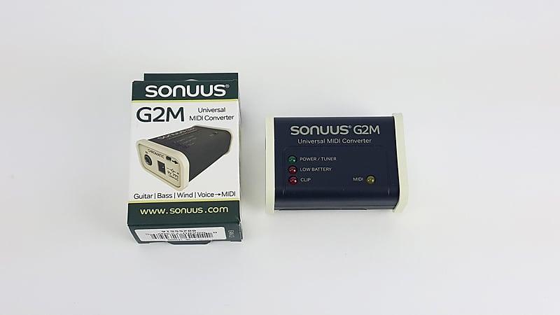 Sonuus G2M Universal Guitar to MIDI Converter - Version 3 - Open Box Special