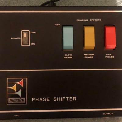 Maestro PS-1A Phase Shifter 1976 (with Original Box & Instruction Manual) for sale