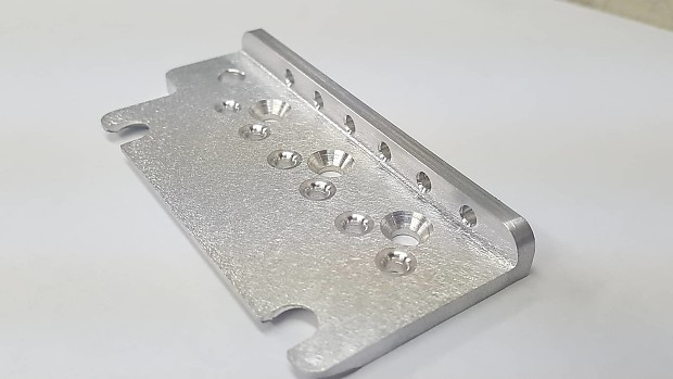 KGC American Standard Milled Aircraft Aluminum Bridge Plate - Machined from  solid billet - NOT BENT!