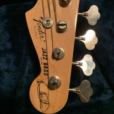 Fender Marcus Miller Jazz Bass Natural for sale