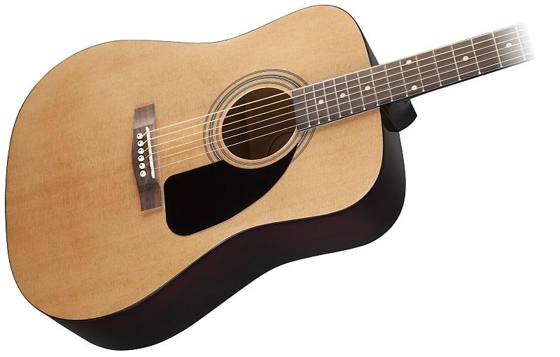 Fender Dg 8s Acoustic Pack Natural With Fender Mini