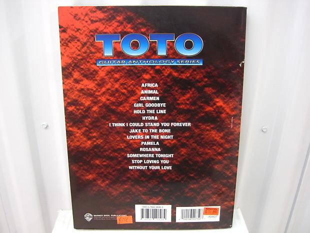 Toto Guitar Anthology Series Sheet Music Song Book Songbook Guitar Tab  Tablature