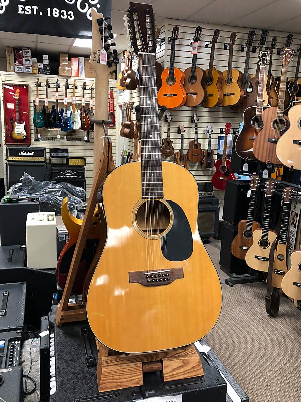 martin 1974 d12 20 12 string acoustic guitar w hard case reverb. Black Bedroom Furniture Sets. Home Design Ideas