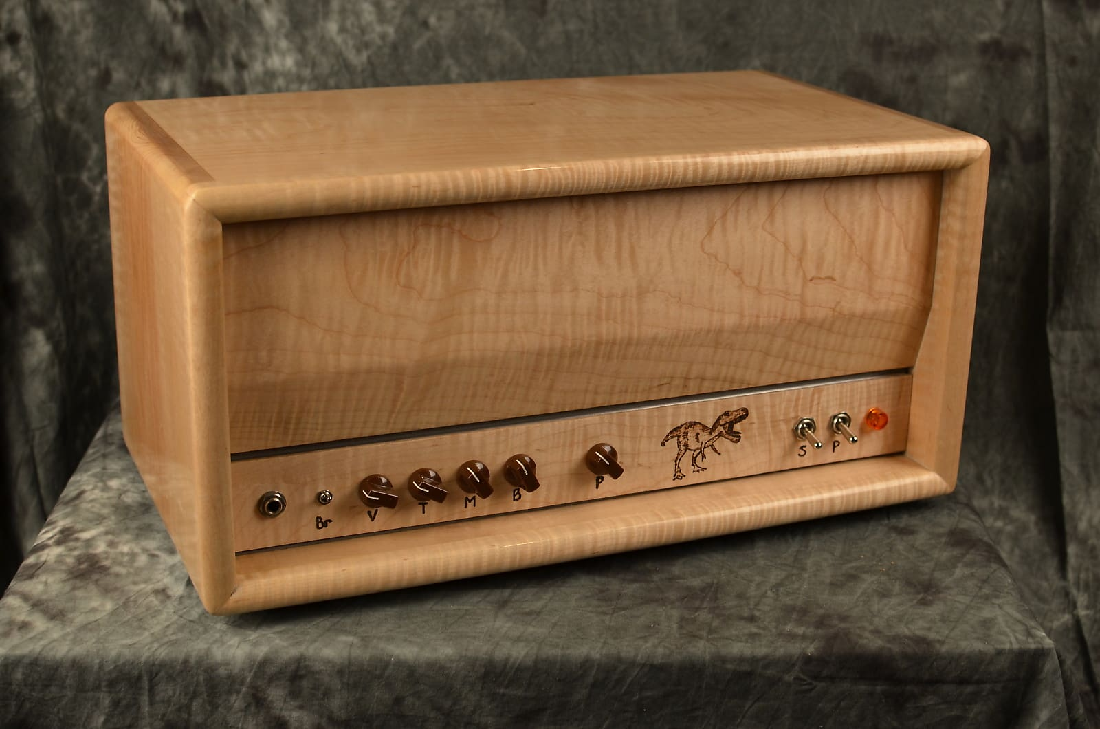 Deluxe Amplification Handwired TW Express Clone Flame Maple