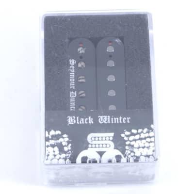 Seymour Duncan Black Winter Bridge Humbucker Guitar Pickup Black image