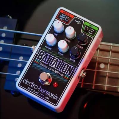 Electro-Harmonix Nano Battalion Bass Preamp and Overdrive 2018